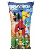 Opblaasbed zwembad angry birds trend