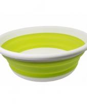 Opvouwbaar teiltje lime groen trend