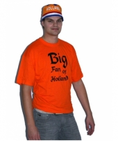 Oranje big fan t-shirt trend