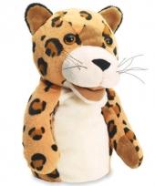 Oranje bruine luipaard handpop trend