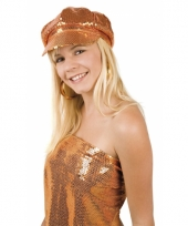 Oranje dames disco pet trend