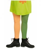 Oranje en groene kous trend