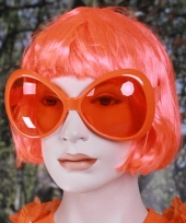 Oranje grote feest brillen trend