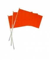 Oranje hand vlaggetjes trend
