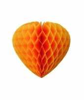 Oranje hartjes decoratie trend