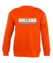 Oranje holland supporter sweater kinderen trend