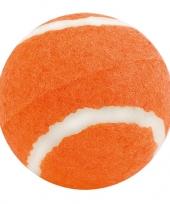 Oranje hondenbal trend