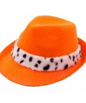 Oranje koning hoedje voor volwassenen trend