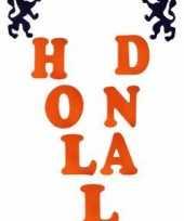 Oranje letter stickers holland trend