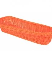 Oranje mandje 37 5 cm trend