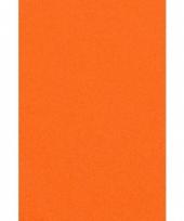 Oranje papieren tafelkleed 137 x 274 cm trend