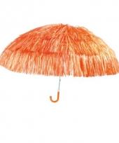 Oranje parasollen 50 cm trend