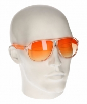 Oranje retro zonnebril type 0176 trend