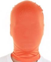 Oranje second skin masker trend