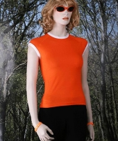 Oranje supporters dames shirt trend
