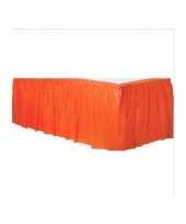 Oranje tafelrokken trend