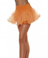 Oranje tule rokje trend