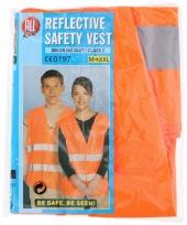 Oranje veiligheidsvest voor volwassenen trend