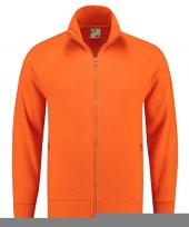 Oranje vest unisex model trend