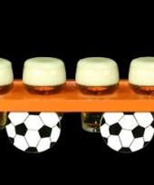 Oranje voetbal dienblad trend