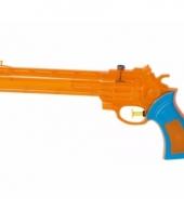 Oranje waterpistool 28 5 x 12 x 4 cm trend