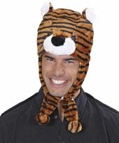 Originele tijgers muts voor volwassenen trend