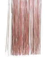 Oud roze kerstversiering folie slierten 50 cm trend
