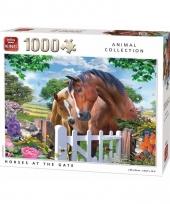 Paarden puzzel 1000 stukjes trend