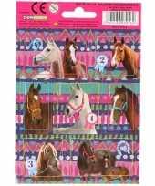 Paarden stickers 10 stuks set 5 trend