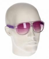 Paarse retro zonnebril type 0176 trend