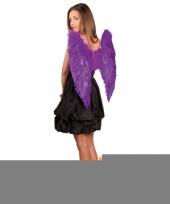 Paarse vleugels 65x65 trend