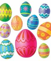 Paas decoratie eieren voor aan de muur trend