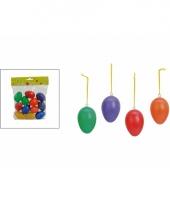 Paastak gekleurde hang eitjes 12 stuks trend