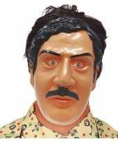 Pablo escobar drugsdealer verkleed masker voor volwassenen trend