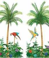 Palmbomen wandversiering 180 cm trend