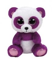 Panda ty beanie knuffel boom boom 24 cm trend