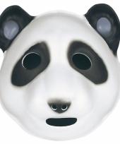 Pandaberen maskertje voor kids trend