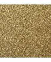 Papier glitter goud vel trend