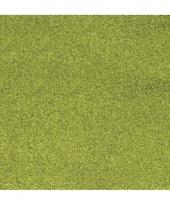 Papier glitter grasgroen vel trend
