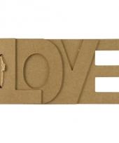 Papier mache boekje met love tekst trend