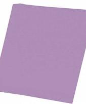 Papier pakket lila paars a4 50 stuks trend