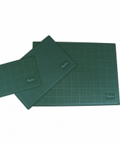 Papiermaat snijmat groen a4 trend