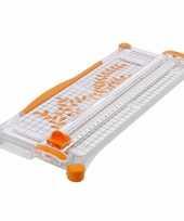 Papiersnijder met uitklapbare liniaal a3 trend