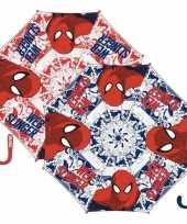 Paraplu spiderman rood trend