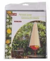 Parasolhoes 175 cm grijs lifetime garden trend
