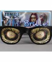 Party bril zombie ogen volwassenen trend