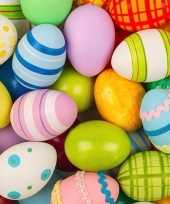 Pasen servetten gekleurde eieren 20 stuks trend