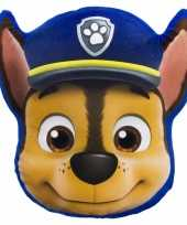 Paw patrol chase kussentje 35 x 31 cm trend