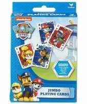 Paw patrol jumbo speelkaarten trend