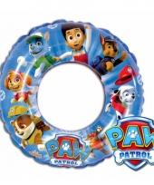 Paw patrol opblaas zwemband trend